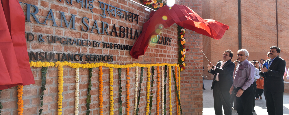 Inauguration of the renovated Vikram Sarabhai Library